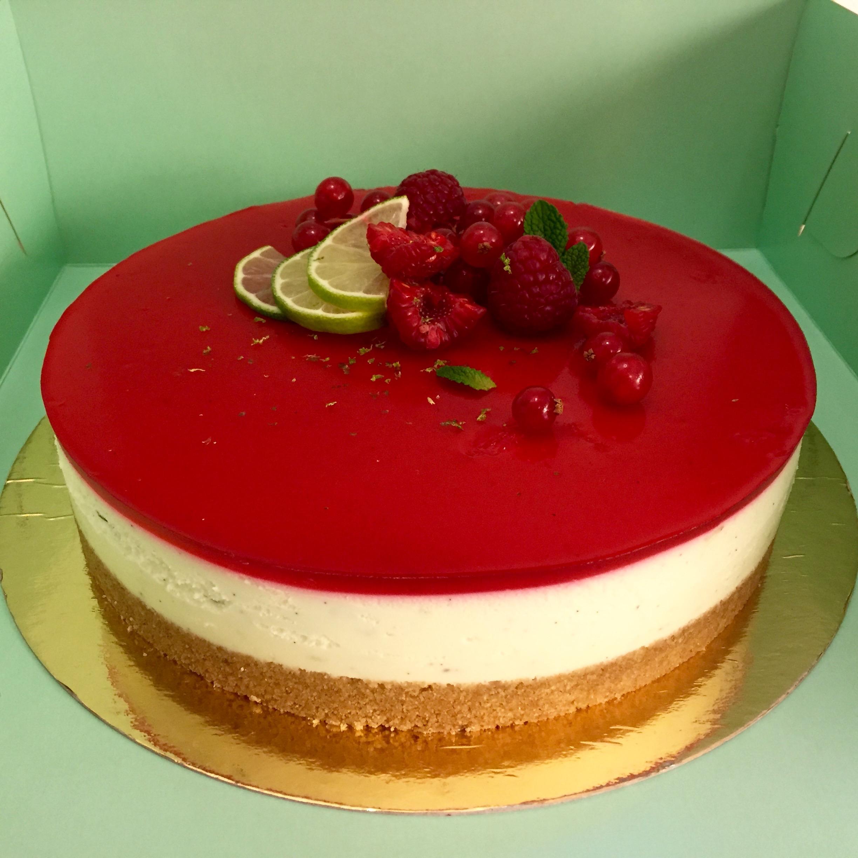 tårta med gelatin